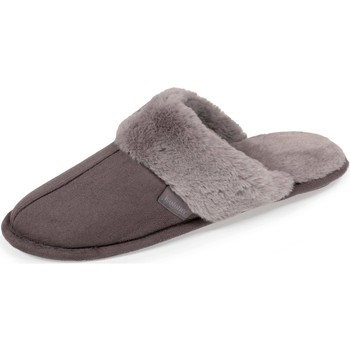 Chaussures Homme Chaussons Isotoner Chaussons mules Gris