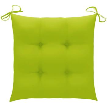 Maison & Déco Galettes de chaise VidaXL Coussin de chaise 50 x 50 x 7 cm Vert
