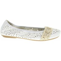 Chaussures Femme Ballerines / babies Rieker 4146681 Blanc