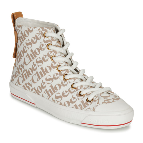 Chaussures Femme Baskets montantes See by Chloé ARYANA Beige