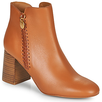 Chaussures Femme Bottines See by Chloé LOUISEE Camel