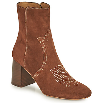 Chaussures Femme Bottines See by Chloé LIZZI Marron