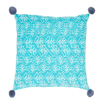 Maison & Déco Coussins Jardin d'Ulysse CAP-OUEST Bleu