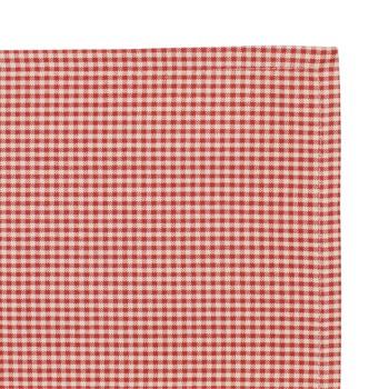 Maison & Déco Serviettes de table Comptoir de famille CAMPAGNE X4 Rouge