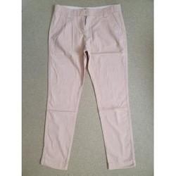 Vêtements Femme Pantalons La Redoute Pantalon fin Rose clair La Redoute 36 Rose