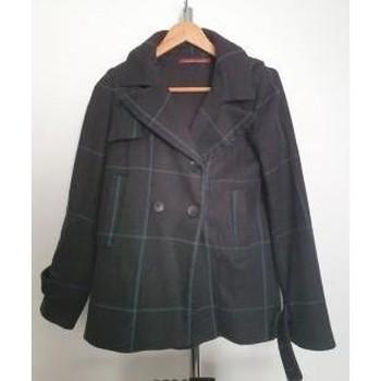 Manteau Manteau à capuche en laine 36 - Comptoir Des Cotonniers - Modalova