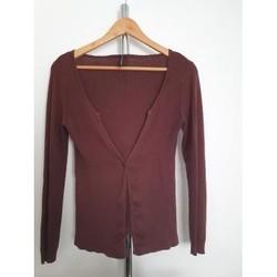 Vêtements Femme Gilets / Cardigans Naf Naf Gilet Naf Naf Marron S Autres