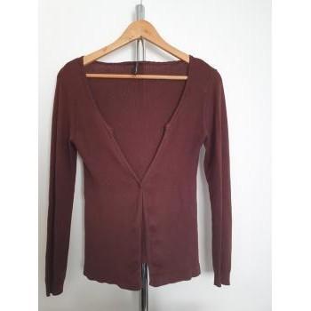 Vêtements Femme LA MODE EST A VOUS Naf Naf Gilet Naf Naf Marron S Autres