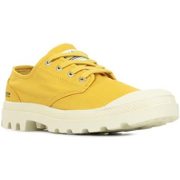 Chaussures Femme Baskets basses Palladium Manufacture Pampa OX Organic II Mustard