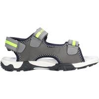 Chaussures Garçon Sandales et Nu-pieds Docksteps - Sandalo grigio/giallo BOXE2 GRIGIO