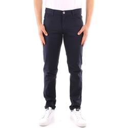 Vêtements Homme Pantalons 5 poches Trussardi 52J00007 1Y000163 BLEU MARIN