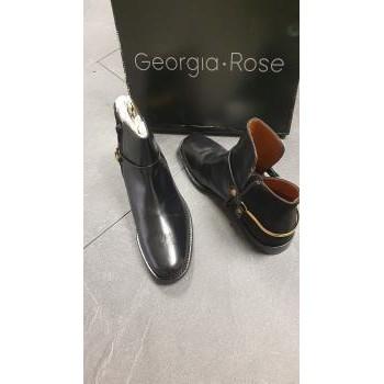 Chaussures Femme Bottines Georgia Rose boots noires Noir