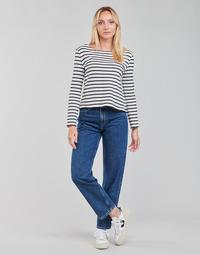 Vêtements Femme Jeans droit Pepe jeans DOVER Bleu Medium