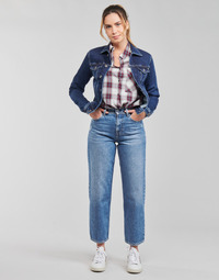 Vêtements Femme Jeans droit Pepe jeans DOVER Bleu Clair