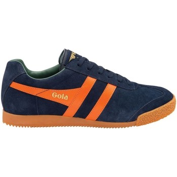 Chaussures Homme Baskets basses Gola HARRIER SUEDE Bleu/Orange