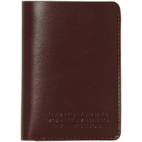 Sacs Portefeuilles Volcom The Classic Leather Card Brown