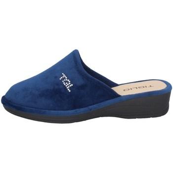 Chaussures Femme Chaussons Tiglio 1600 Bleu