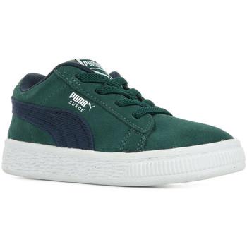 Chaussures Enfant Baskets basses Puma Inf Suede Cl Dnm Ac vert