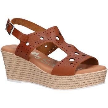 Chaussures Femme Sandales et Nu-pieds Oh My Sandals 4867-V62 Marr?n