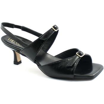 Chaussures Femme Sandales et Nu-pieds Les Venues LES-E21-622-NE Nero
