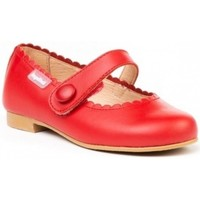 Chaussures Fille Ballerines / babies Angelitos 25298-18 Rouge