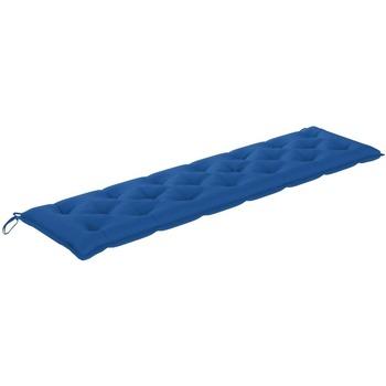Maison & Déco Coussins Vidaxl Coussin de banc 200 x 50 x 7 cm Bleu
