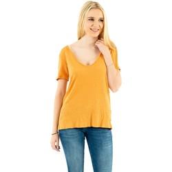 Vêtements Femme T-shirts manches courtes Please t0ay 1288 mango jaune