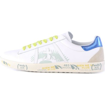 Chaussures Homme Baskets basses Premiata ANDY baskets homme blanc blanc