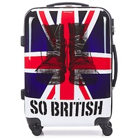 Sacs Valises Rigides David Jones UNION JACK 53L Multicolore