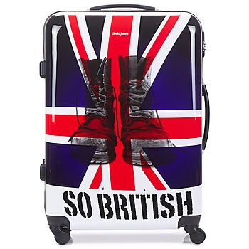 Sacs Valises Rigides David Jones UNION JACK 83L Multicolore