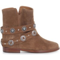 Chaussures Femme Boots Via Roma 15 3268 Beige
