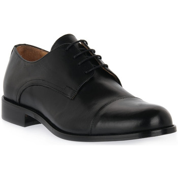 Chaussures Homme Derbies Exton NERO VITELLO Nero