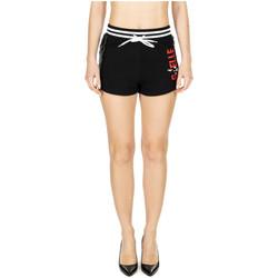 Vêtements Femme Shorts / Bermudas GaËlle Paris SHORT IN FELPA nero