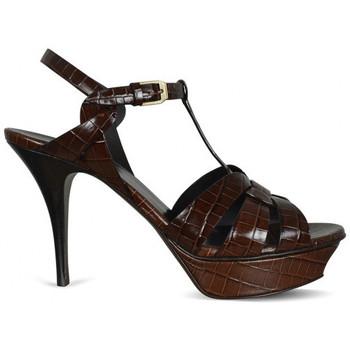 Chaussures Fille Sandales et Nu-pieds Saint Laurent  Marron