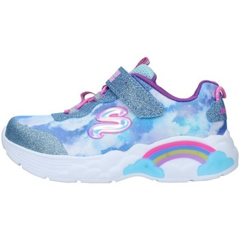 Chaussures Garçon Baskets basses Skechers 302300N BLEU