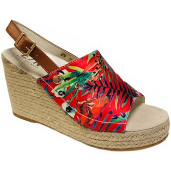 Chaussures Femme Sandales et Nu-pieds Elue par nous Jotta Rouge