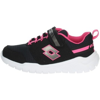 Chaussures Fille Baskets basses Lotto 215794 Blanc/Fuchsia