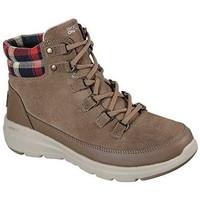Chaussures Femme Baskets montantes Skechers Glacial Ultra-Peak 144152 Beige