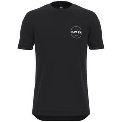 Vêtements Homme T-shirts manches courtes Levi's Perf Graphic Tee Noir