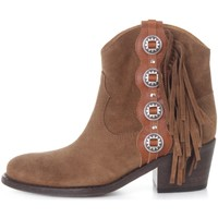 Chaussures Femme Boots Via Roma 15 3325 Beige