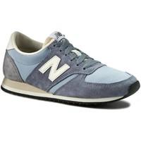 Chaussures Baskets basses New Balance U420RPB - Mixtes Gris