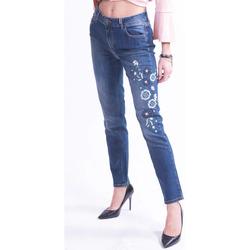 Vêtements Femme Jeans slim Donatella De Paoli 18D1141 Incolore