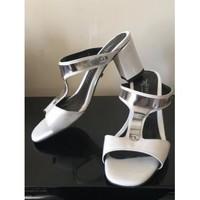 Chaussures Femme Mules Xavier Danaud Mules nu pieds 35 Blanc