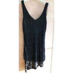 Vêtements Femme Robes courtes Desigual Robe noire Noir
