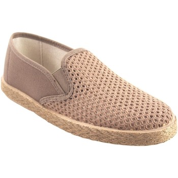 Chaussures Homme Slip ons Neles Chaussure homme  1901 beige Blanc