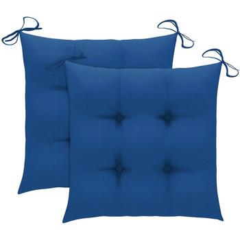 Maison & Déco Coussins Vidaxl 50 x 50 x 7 cm Bleu