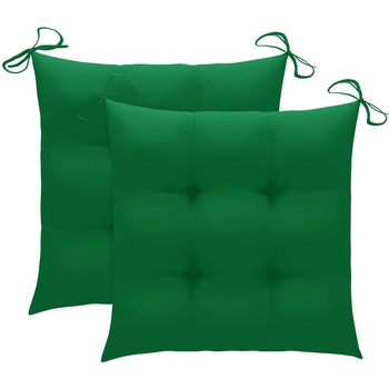 Parures de lit Coussins Vidaxl 50 x 50 x 7 cm Vert