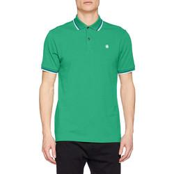 Vêtements Homme Polos manches courtes G-Star Raw G Star polo homme Dunda slim vert D17127 Vert