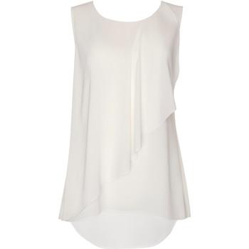 Vêtements Femme Tops / Blouses Lisca Top sans manches Ensenada Ivoire