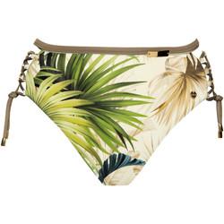 Vêtements Femme Maillots de bain séparables Lisca Bas maillot slip de bain taille haute échancré Ensenada Vert